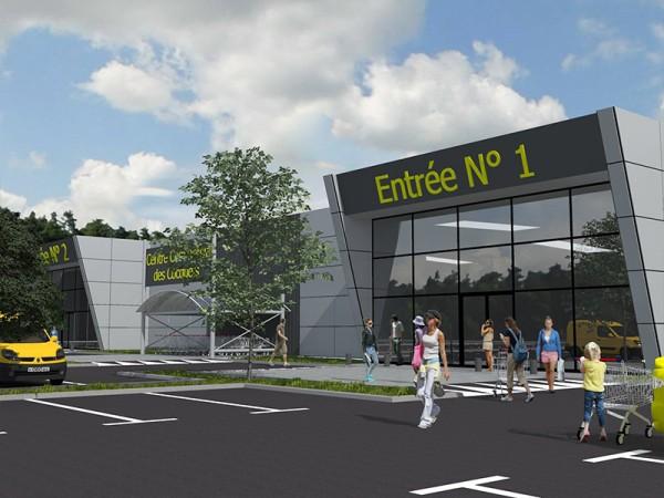Projet de centre commercial