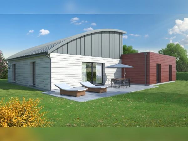 Maison structure bois - 130 m²