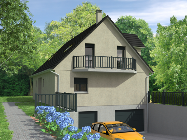 Maison traditionnelle sur sous-sol - 140 m²