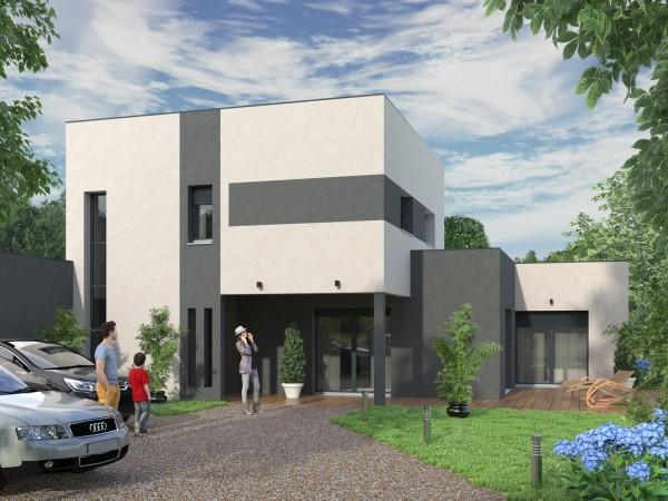 Maison moderne - 160 m²